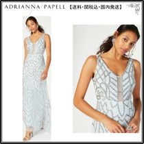 【海外限定】AdriannaPapellガウン☆Embellished Low-Back Gown