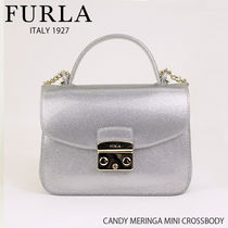 f7bd6be9d5f3 FURLA CANDY MERINGA MINI CROSSBODY BOC3 ショルダー 2way ラメ