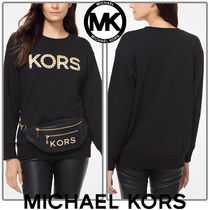 【 Michael Kors 】French Terry スウェット  MH85M2Z97F