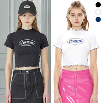★CHARM'S★クロップド ロゴTシャツ  CHARMS WINDING CROP T 3色