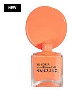 Nails Inc マニキュア Nails Inc限定☆Kiss My Peach Duo Nail Set(4)