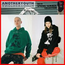 ANOTHERYOUTH(アナザーユース) パーカー・フーディ ☆韓国の人気☆【ANOTHERYOUTH】☆Unbalance Hoodie☆2色☆