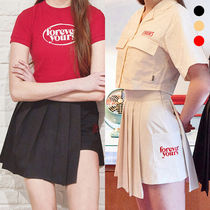 ★CHARM'S★プリーツスカート  CHARMS LOGO POCKET SKIRT【3色】