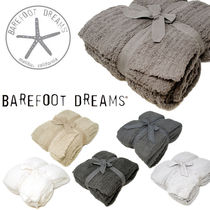 人気のふわもこ★BAREFOOT DREAMS RIBBED THROW COZYCHIC 男女OK