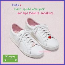 【kate spade×keds】人気コラボ★ace lips hearts sneakers ★