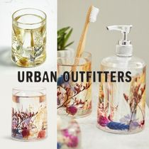 Urban Outfitters(アーバンアウトフィッターズ) バス・ランドリー 【日本未入荷】*URBAN OUTFITTERS* 押し花 歯ブラシホルダー