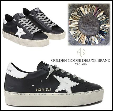 Golden Goose スニーカー ★関税込/追跡★GOLDEN GOOSE★HI STAR SNEAKERS★BLACK/WHITE