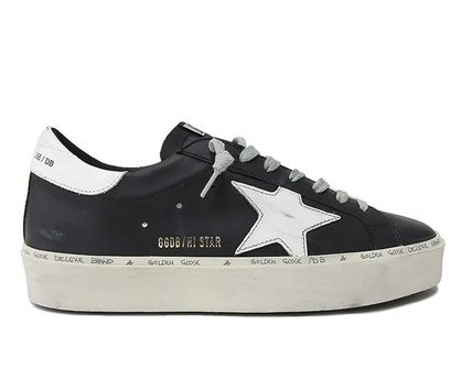 Golden Goose スニーカー ★関税込/追跡★GOLDEN GOOSE★HI STAR SNEAKERS★BLACK/WHITE(2)