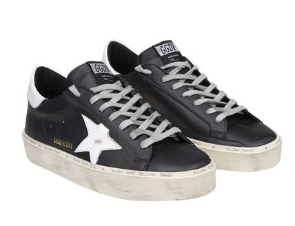 Golden Goose スニーカー ★関税込/追跡★GOLDEN GOOSE★HI STAR SNEAKERS★BLACK/WHITE(6)