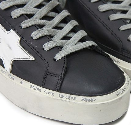 Golden Goose スニーカー ★関税込/追跡★GOLDEN GOOSE★HI STAR SNEAKERS★BLACK/WHITE(8)