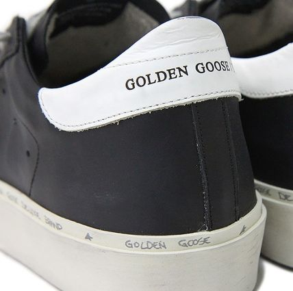 Golden Goose スニーカー ★関税込/追跡★GOLDEN GOOSE★HI STAR SNEAKERS★BLACK/WHITE(9)