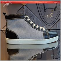 ◆Christian Louboutin 19SS最新作◆Rantus Cotton Men's Flat◆