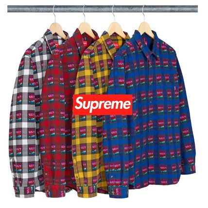 2fb1b1b0 Supreme シャツ SS19 Supreme Rose Buffalo Plaid Shirt - シュプリーム シャツ ...
