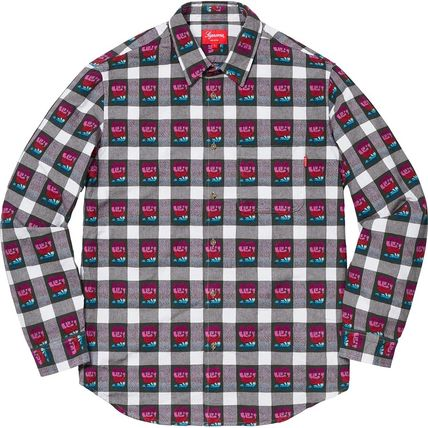 9c3b6737 ... Supreme シャツ SS19 Supreme Rose Buffalo Plaid Shirt - シュプリーム シャツ(6)