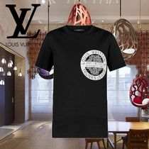 19SS Louis Vuitton(ルイヴィトン) プリントロゴコットンTシャツ