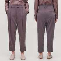 """COS"" RELAXED PLEATED TROUSERS CHALK LILAC"