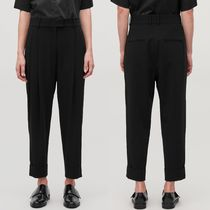 """COS"" RELAXED PLEATED TROUSERS BLACK"