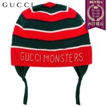 【正規品保証】GUCCI★19春夏★GUCCI MONSTERS KNITTED HAT