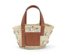 【新作】【SS19】Basket Stones Small Bag Natural/Tan