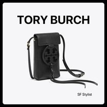 SALE★Tory Burch クロスボディーMiller Crossbody iPhone 黒