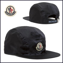 NEW☆MONCLER(モンクレール)  ロゴ Shell ベースボールキャップ