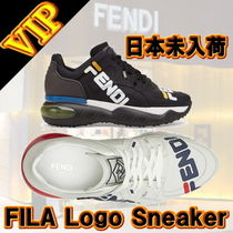 ◆◆VIP◆◆  FENDI & FILA Logo Mania Leather スニーカー