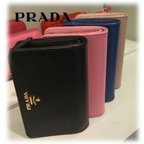 【OUTLET】PRADA☆二つ折り財布 1ML225_2EZZ☆VITELLO MOVE☆4色