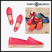 Tory Burch COLOR-BLOCK LEATHER ESPADRILLE エスパドリーユ