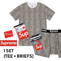 Supreme Hanes Leopard Boxer Briefs + Tagless Tees SS19 WEEK1