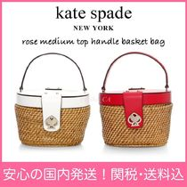 【国内発送】rose medium top handle basket bagセール