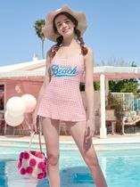 【ROLAROLA】CHECKED ONEPIECE SWIMSUIT(送料無料・関税込み)