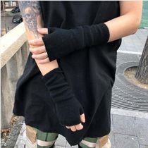 【RASHOMONG】 Long hand warmer (black, ivory, dark gray)
