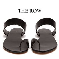 【19SS】★THE ROW★Infradito leather slides