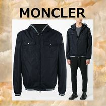 【EMS発送/関税込】MONCLER★JEANCLAUDEナイロンパーカー NAVY