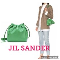 【関税 送料込】JIL SANDER Drawstring Small crossbody bag