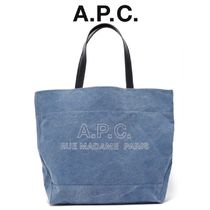 【19SS】★A.P.C.★Ingride denim tote bag