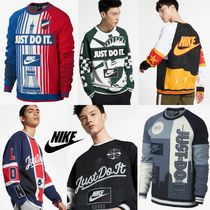 "Nike Sportswear ナイキ NYC Crewneck ""Just Do It"""