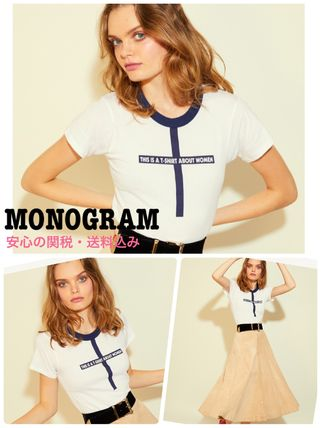 【MONOGRAM】LA発 T-Shirt About Women Tシャツ