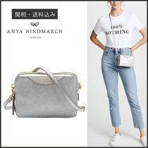 【ANYA HINDMARCH】 STACK DOUBLE WALLET クロスボディ バッグ