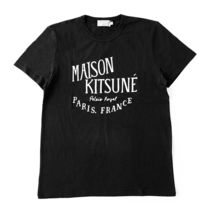 MAISON KITSUNE AM00100 PALAIS ROYAL 半袖 Tシャツ BLACK
