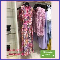 【kate spade】華やかお花柄♪ floral dots burnout dress ★