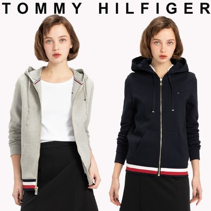 TOMMY HILFIGER ベーシックジップアップパーカー 国内買付