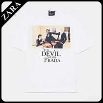 ★ZARA TRF★  THE DEVIL WEARS PRADA  2019 T-SHIRT