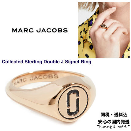 MARC JACOBS 指輪・リング 【MARC JACOBS】関送込 Double J Signet リング