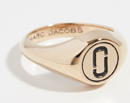 MARC JACOBS 指輪・リング 【MARC JACOBS】関送込 Double J Signet リング(2)