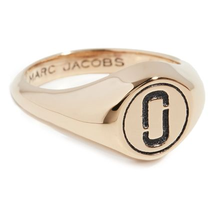 MARC JACOBS 指輪・リング 【MARC JACOBS】関送込 Double J Signet リング(5)