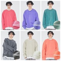 ATTENTIONROW(アテンションロー) スウェット・トレーナー ATTENTIONROWのLOCO PIGMENT REVERSIBLE HEAVY SWEATSHIRT