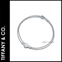 ★追跡&関税込【TIFFANY & CO】Two Double Chain Bracelet