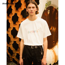 ANDERSSON BELL正規品★19SS★キッチュ刺繍ロゴTシャツ★UNISEX
