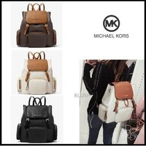 【Michael Kors】 ABBEY LG CARGO BACKPACK